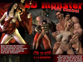 Most horrible 3D monsters. Most big-titted 3D babes. In most detailed and realistic 3D monster porn pictures! If you are bold enough for this stuff, welcome!