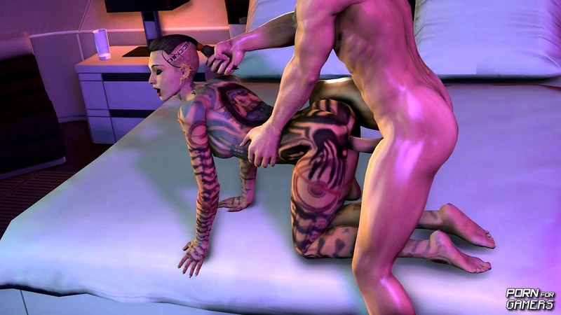 Nude toons mass effect — photo 2
