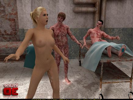 Zombi pussy sex photo with