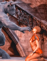 The ancient Minotaur awakens driven by one thing only, an insatiable desire of hot juicy womb