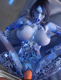 Intensive 3D sex in the space with a lustful alien mademoiselle
